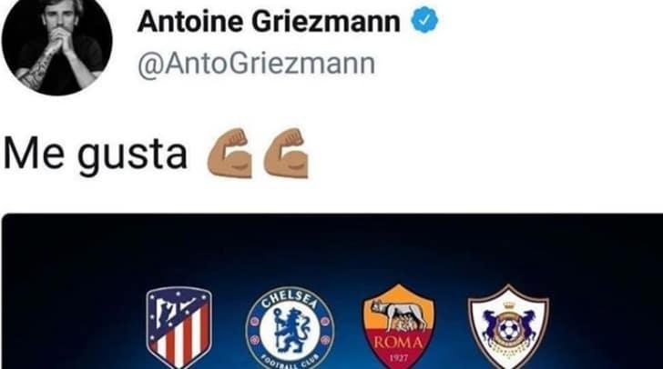 Roma, Juan Jesus sbeffeggia Griezmann: «Ora non ti piace più»