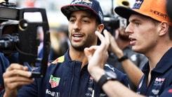F1, Verstappen e Ricciardo