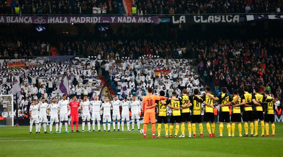 Zidane si aggiudica l'ultima partita della Fase a gironi: prima Mayoral e Ronaldo, poi doppio Aubameyang. Lucas nel finale regala i 3 punti. Il portoghese segna 6 reti nelle prime 6 partite di Champions: mai nessuno come lui