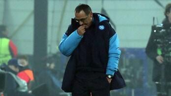 Napoli, Sarri dà la colpa a Shakhtar-City: «Condizionati dal risultato»