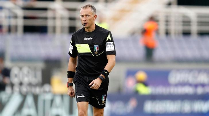 Serie A, gli arbitri del 16° turno: Juventus-Inter a Valeri