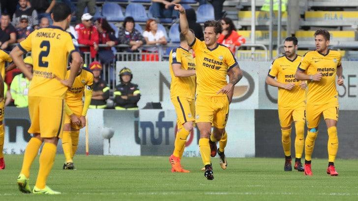 Serie A Verona, per Bruno Zuculini elongazione ai flessori