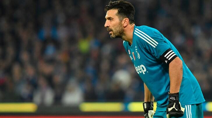Juventus, Buffon non si allena: in dubbio per l'Inter