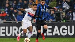Europa League Atalanta-Lione 1-0, il tabellino