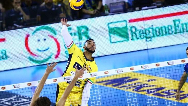 Volley:Superlega, l' MVP di novembre è Earvin Ngapeth