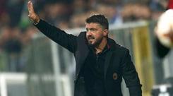 Milan, Gattuso: «Una figuraccia e io sono il responsabile»