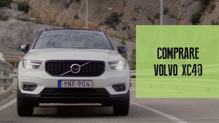 Volvo Xc40 Prova Su Strada Del Primo Suv Compatto Svedese