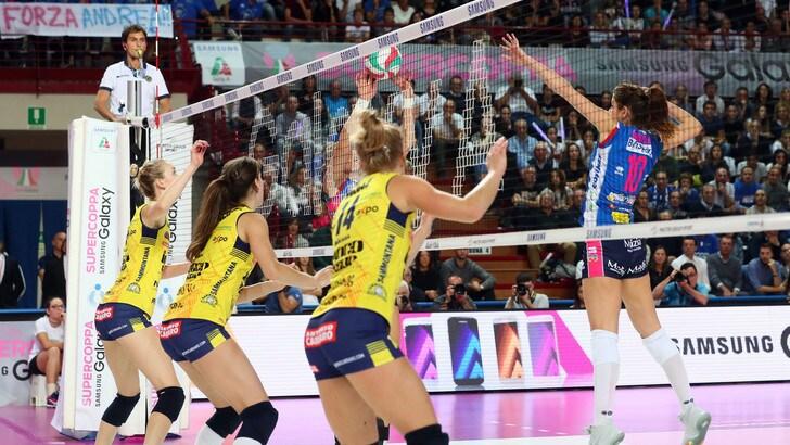 Volley: A1 Femminile, Novara-Conegliano, sabato le big a confronto