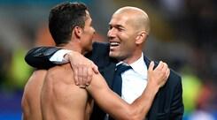 Zidane: «Cristiano Ronaldo è il migliore. Anche più di me»