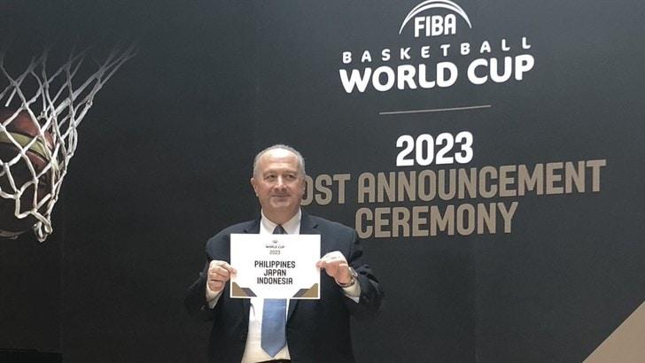 La FIBA assegna i Mondiali 2023 a Giappone, Filippine Indonesia
