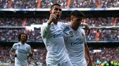 Liga, il Real Madrid travolge il Siviglia 5-0: doppietta di CR7
