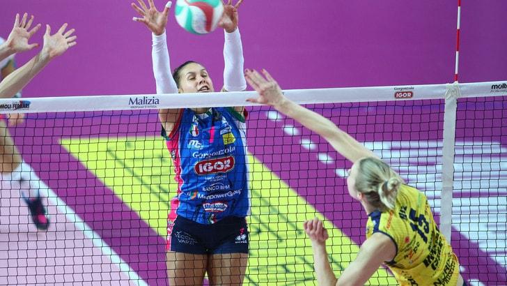 Volley: A1 Femminile, Conegliano espugna il campo di Novara