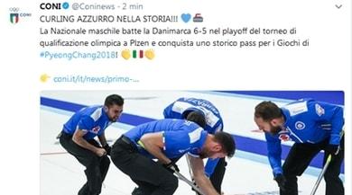 Curling, impresa Italia: staccato il pass per le Olimpiadi