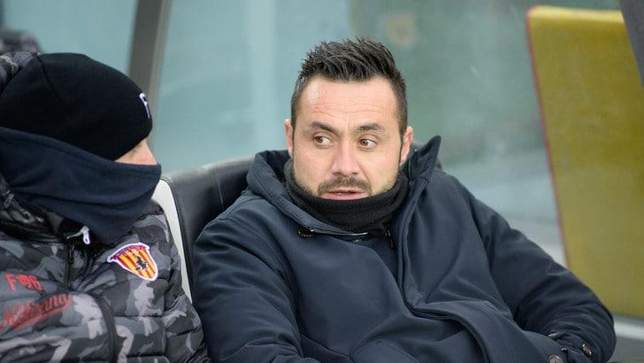 Serie A Benevento, De Zerbi: «Se dico salvezza mi prendono per scemo»