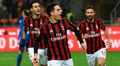Serie A, Milan-Bologna 2-1: decide una doppietta di Bonaventura