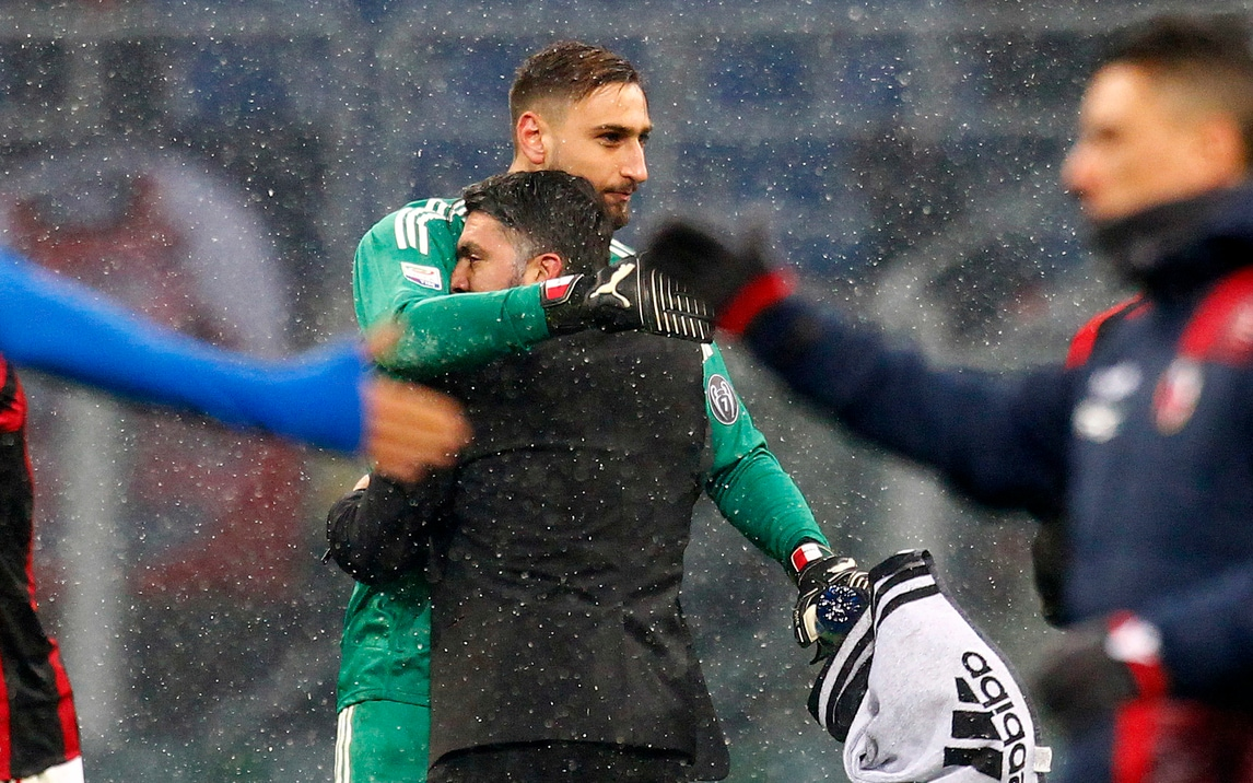 Milan, Gattuso: «Donnarumma sereno. Problemi? Ci pensa il club»