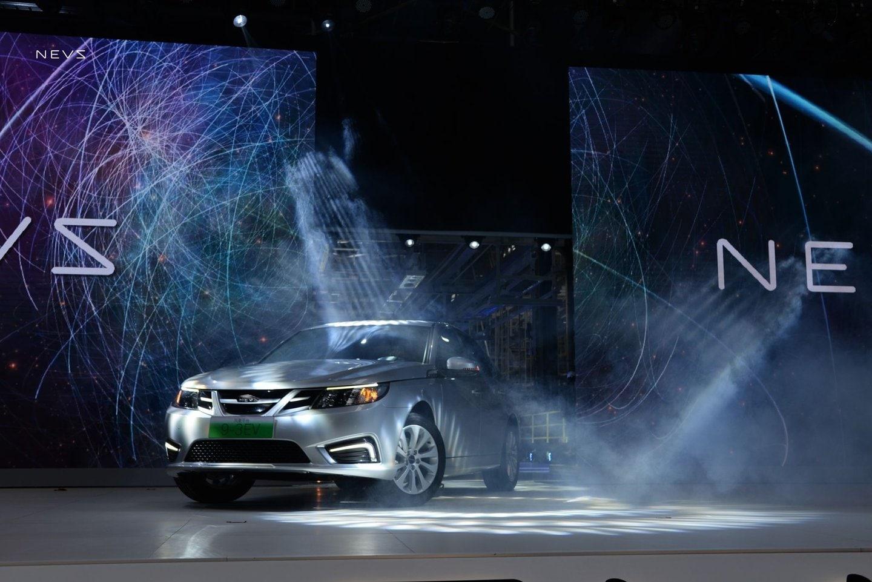 Nevs 9-3, l'elettrica nata dalle ceneri Saab