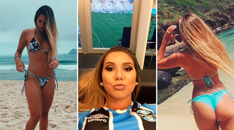 La modella brasiliana fa impazzire i fan postando foto sui social