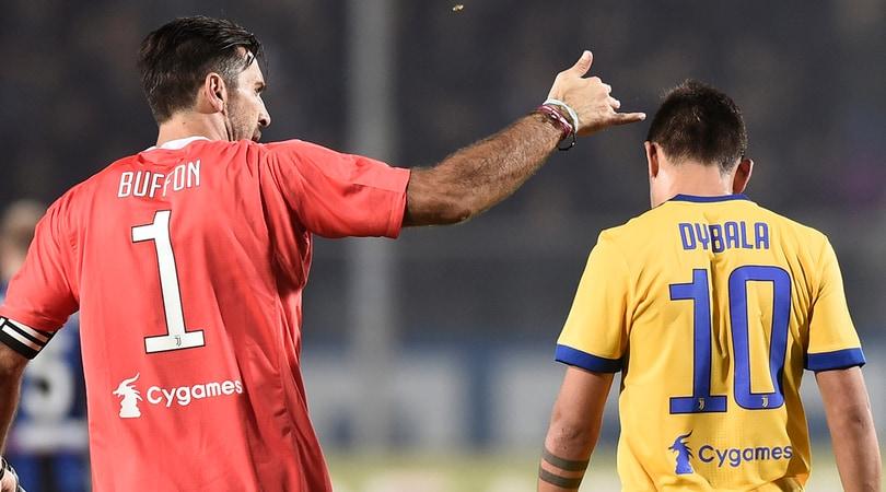 Juventus, Buffon il saggio: «Dybala? Ascolti Nedved»