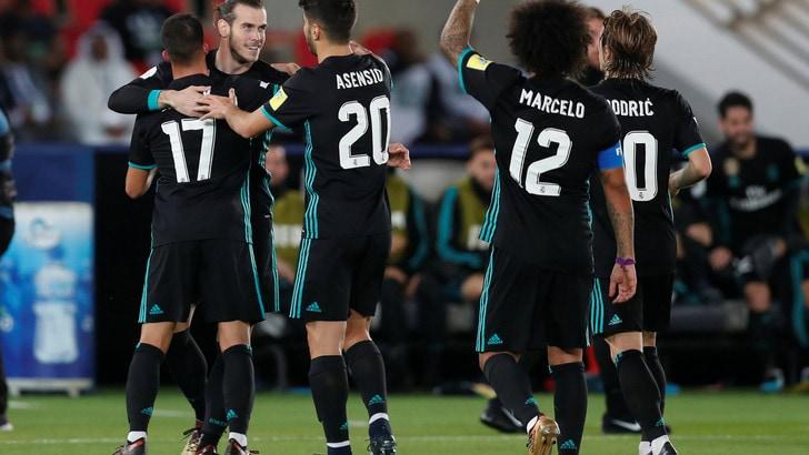 Mondiale per club: Real, che paura! Ma il trionfo è a 1,20