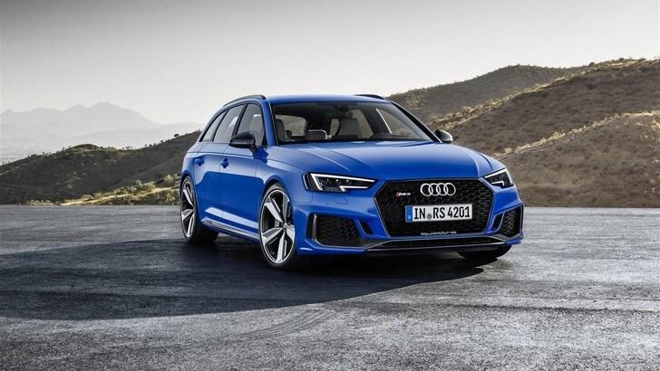 Audi RS4 Avant, meno cilindri più velocità