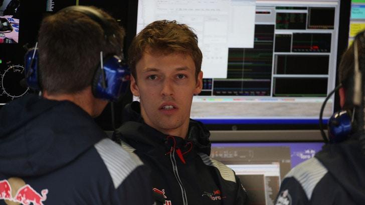 F1, Marko: «Kvyat gran talento, ma non è più competitivo»