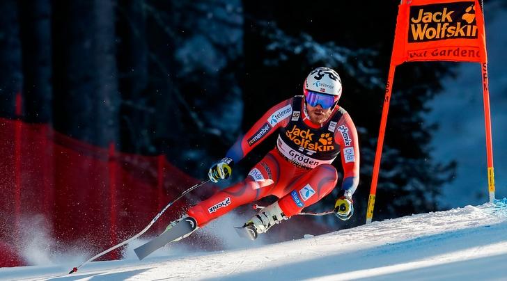 Coppa del mondo di sci, doppietta norvegese nella discesa in Val Gardena