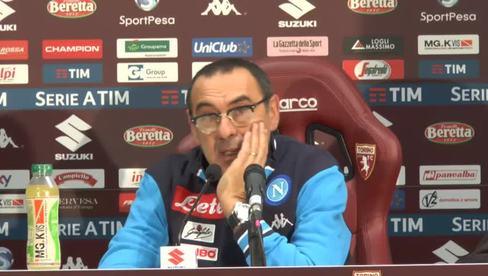 "Sarri: ""KO Inter ci ha caricato"""