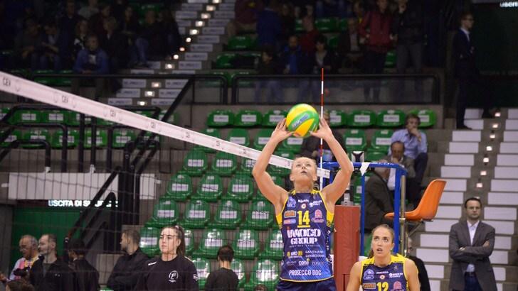 Volley: A1 Femminile, Conegliano batte Pesaro ed è Regina dell'andata