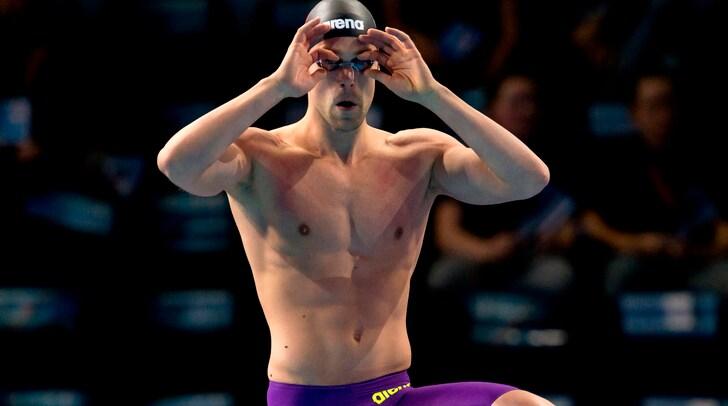 Nuoto, Dotto re d'Europa nei 100 stile libero