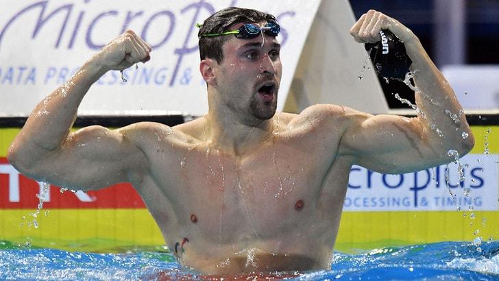 Nuoto, anche Orsi e Sabbioni sono d'oro agli Europei