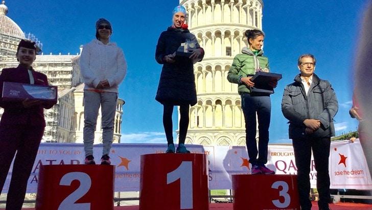 Antonino Lollo e Nikolina Sustic i campioni della 19^ PisaMarathon