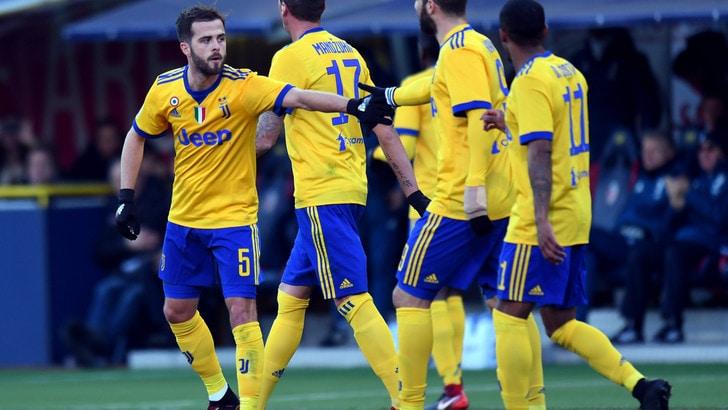 Serie A: Juve a 2,25 nelle quote scudetto, crolla l'Inter