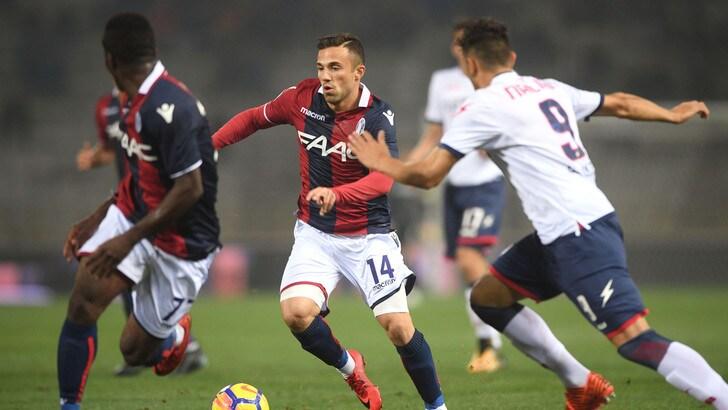 Serie A Bologna, allenamento in gruppo per Di Francesco