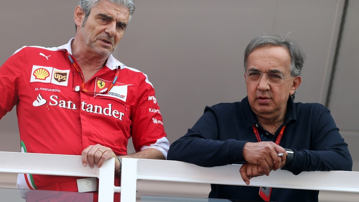 F1, Marchionne: «La Ferrari è ancora pronta all'addio»