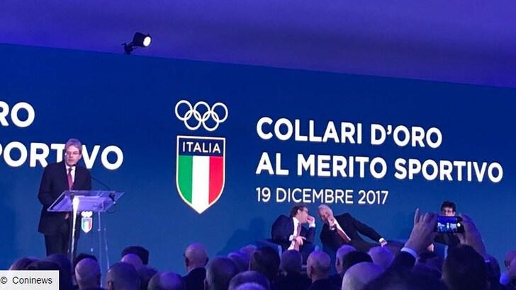 Stella d'Oro al merito sportivo a Tuttosport