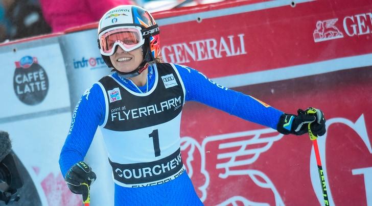 Sci, gigante diCourchevel: vince la Shiffrin,terzo podio stagionale per Manuela Moelgg