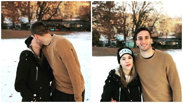 Bentancur e Mel, quanto amore sotto la neve di Torino!