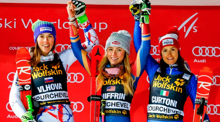 Sci, slalom parallelo: Shiffrin show, terza Irene Curtoni