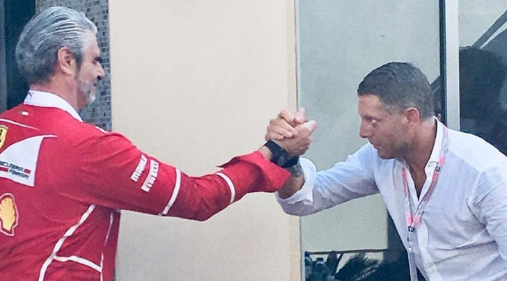 Lapo Elkann tutto per la Rossa: «Forza Ferrari, forza Arrivabene». La nuova F1 a febbraio
