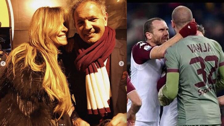Tutti pazzi per il Torino e per Vanja, l'altro Milinkovic. E Mihajlovic gode con Arianna