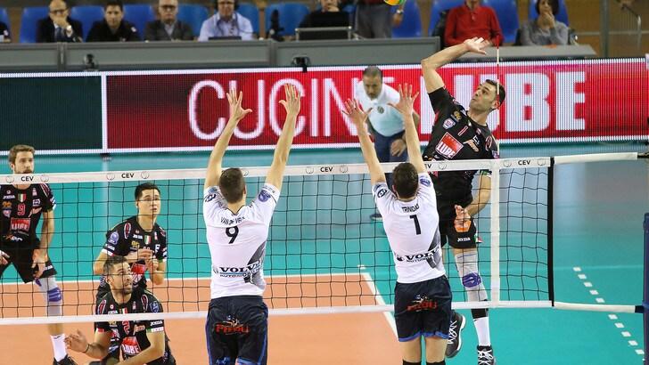 Volley: Champions League, La Lube non sbaglia, battuto il Roeselare