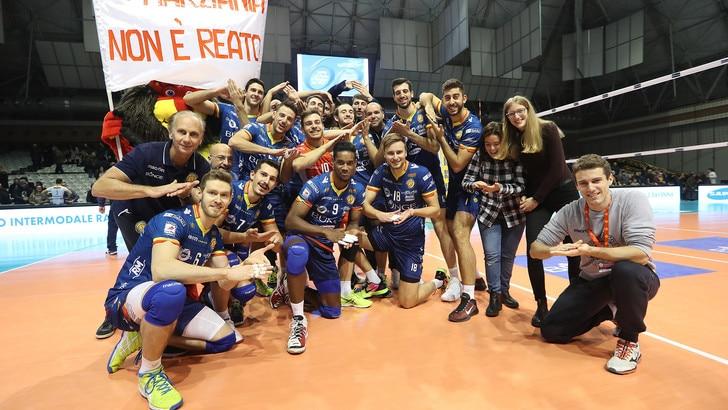 Volley: Challenge Cup, per Ravenna vittoria al tie break ed ottavi