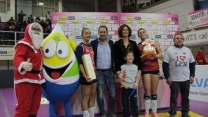 Volley: A2 Femminile, a Mondovì il Natale è solidale