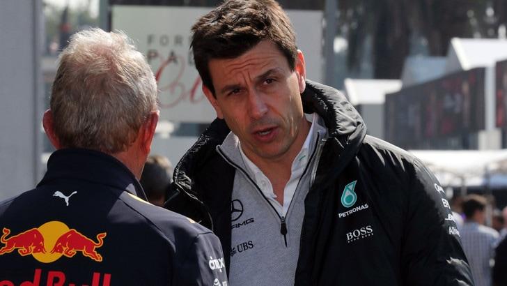 F1, Wolff: «Sui cambiamenti d'accordo con Marchionne»