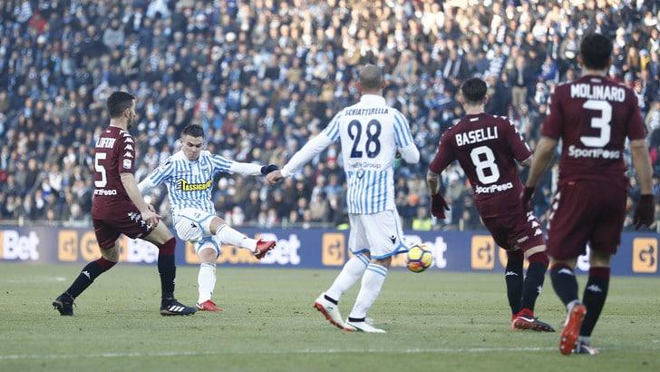 Serie A Spal-Torino 2-2, il tabellino