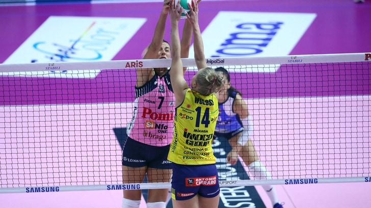 Volley: A1 Femminile, la capolista Imoco inizia il ritorno contro la Pomì