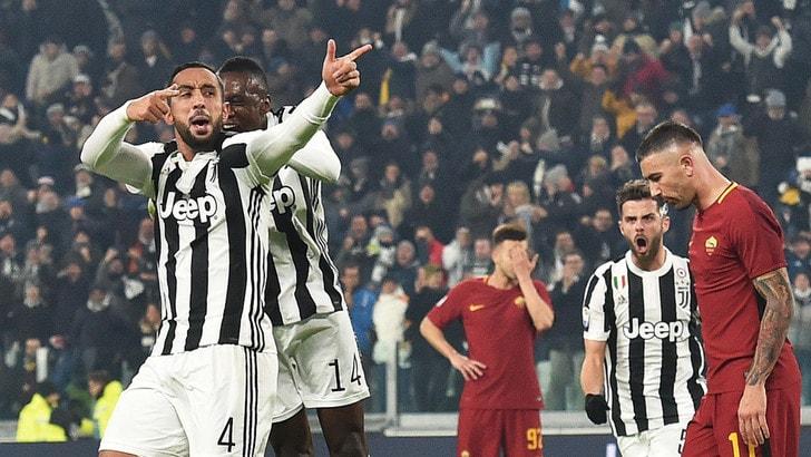 Cecchino Benatia stende la Roma, brividi finali: Juventus a -1 dal Napoli