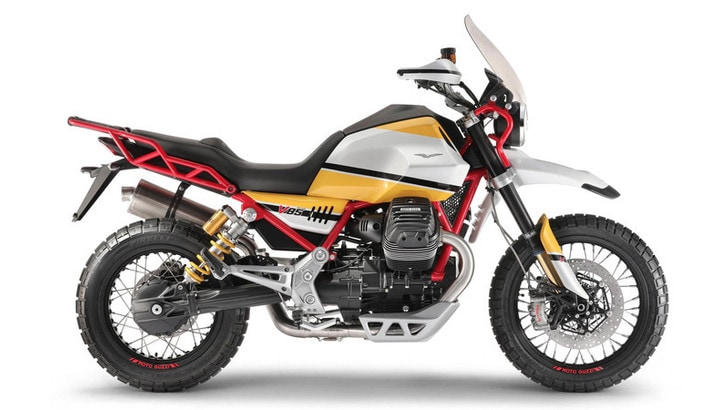 Moto Guzzi V85, la crossover per i grandi viaggi