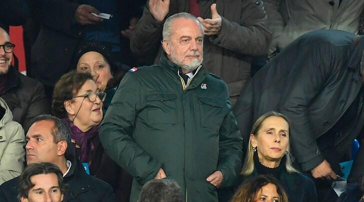 Napoli, De Laurentiis: «Il mercato? Siamo anche troppi...»